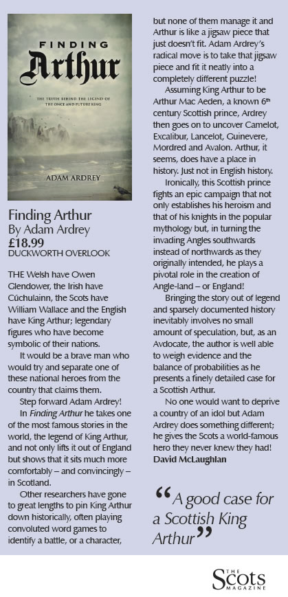 Finding Arthur in the Scots Mag